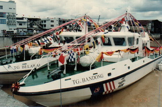 Ceremony for Launching of TG Belawai and TG Bandong by Chief Minister of Sarawak