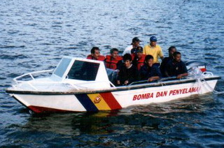 Rescue Boats for Malaysian Fire & Rescue Department