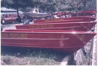 100 Units of 8.5 m Aluminium Rescue Boat for Malaysian Fire and Rescue Department