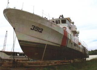 Repair Project of KM Bijak for Malaysian Coastguard (PZ Class Patrol Boat)