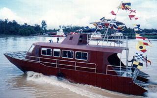 Aluminium Water Jet Catamaran