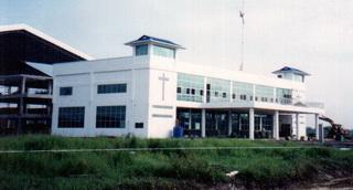Construction of new shipyard at Rantau Panjang in 2002