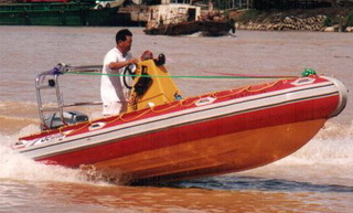 3 Units of Rigid Inflatable Boats for Marine Department Malaysia