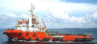 47 m 4400HP 1/2 FiFi Anchor Handling Tug