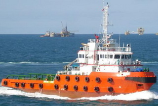 50 m 4400HP FiFi 1 Anchor Handling Tug