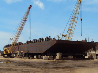 180 ft x 60 ft x 12 ft Dumb Barge