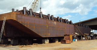 180 ft x 60 ft x 12 ft Dumb Barge (Used)