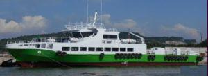 40 m 4350HP Aluminium Crew Boat