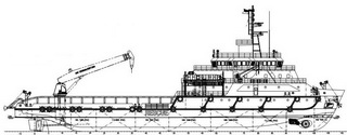 2 units of 70.16 m 3500HP Maintenance/Support Vessel
