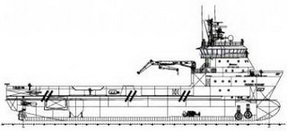 78.70 m 4880HP FiFi 1 DP2 Platform Supply Vessel