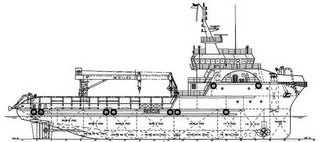 59.25 m 4200HP Subsea Support Vessel