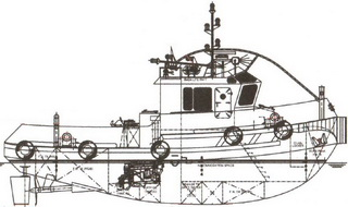 16 m 1000HP Tug Boat